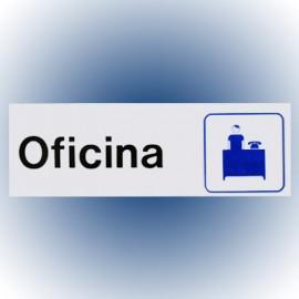 LETRERO OFICINA 7.6x22.8 cm. HY-KO