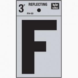 LETRA REFLECTIVA 3 PULGADAS F HY-KO