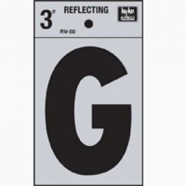 LETRA REFLECTIVA 3 PULGADAS G HY-KO