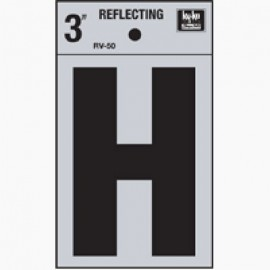 LETRA REFLECTIVA 3 H HY-KO.