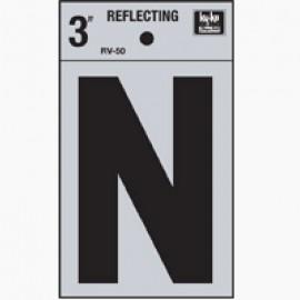 LETRA REFLECTIVA 3 N HY-KO.