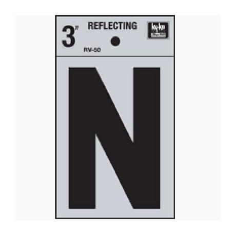 LETRA REFLECTIVA 3 N HY-KO. - Envío Gratuito
