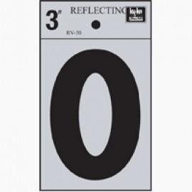 LETRA REFLECTIVA 3 O HY-KO.