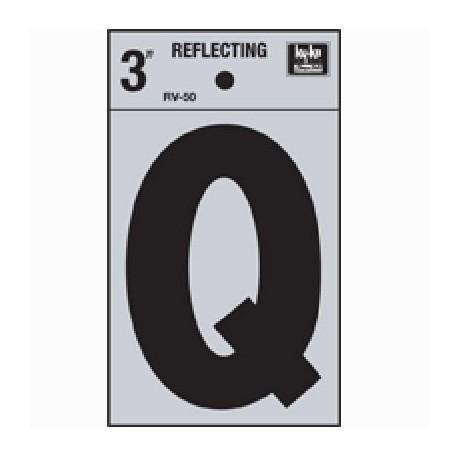 LETRA REFLECTIVA 3 Q HY-KO. - Envío Gratuito