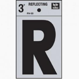 LETRA REFLECTIVA 3 PULGADAS R HY-KO