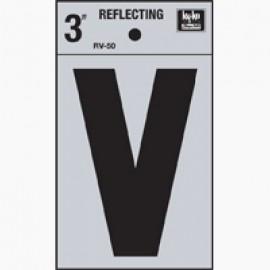 LETRA REFLECTIVA 3 PULGADAS V HY-KO