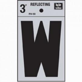 LETRA REFLECTIVA 3 PULGADAS W HY-KO