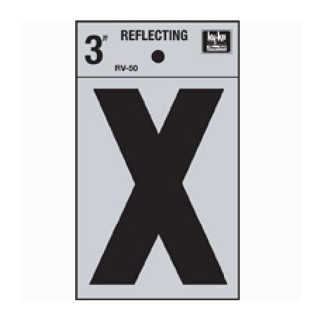 LETRA REFLECTIVA 3 PULGADA X HY-KO - Envío Gratuito