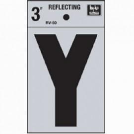 LETRA REFLECTIVA 3 PULGADAS Y HY-KO