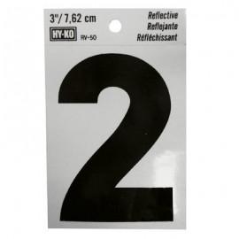 NUMERO REFLECTIVO 3 2 HY-KO.