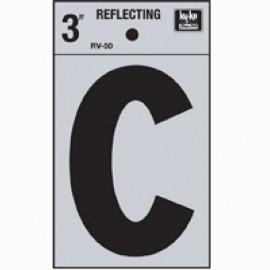 LETRA REFLECTIVA 3 PULGADAS C HY-KO