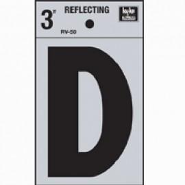 LETRA REFLECTIVA 3 PULGADAS D HY-KO