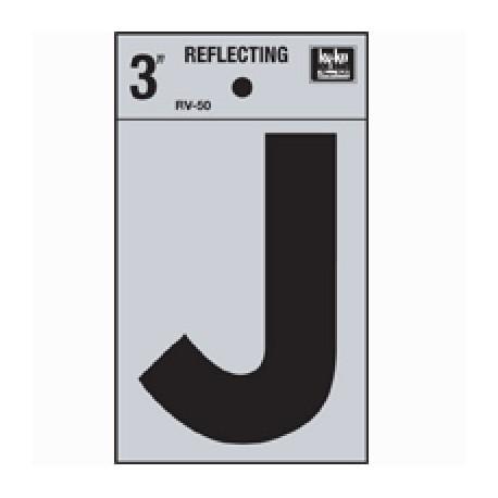 LETRA REFLECTIVA 3 J HY-KO. - Envío Gratuito