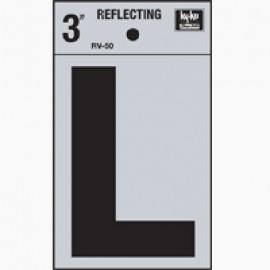 LETRA REFLECTIVA 3 L HY-KO