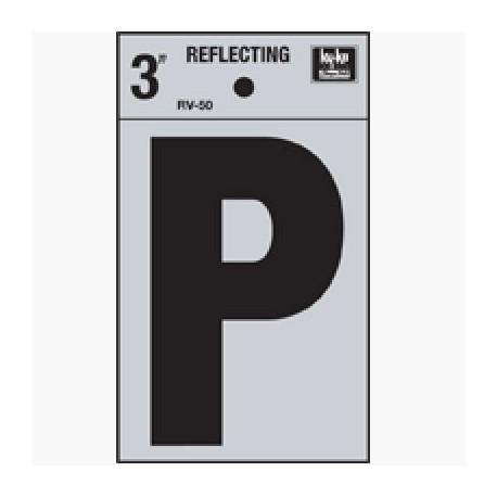 LETRA REFLECTIVA 3 PULGADAS P HY-KO. - Envío Gratuito