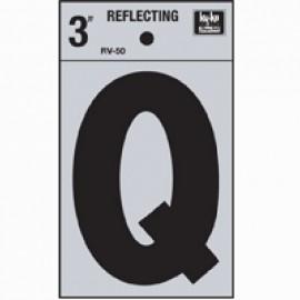 LETRA REFLECTIVA 3 Q HY-KO.