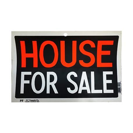 LETRERO HOUSE FOR SALE. - Envío Gratuito