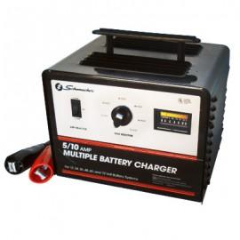 CARGADOR SE-1072 10/5 AMP para 6 baterias - Envío Gratuito