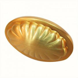 BOTON 30778 SHELL SATIN GOLD KNOB HILL.