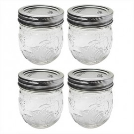 FRASCOS PARA ENVASE BALL DESING SERIES RM 8oz (236 ml) JAM JAR