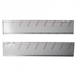 PERFIL LEGRABOX M INOX 45CM 18770M4502L